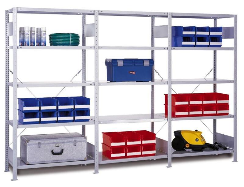 five lager und archiveinrichtungen lagerregale fachbodenregale. Black Bedroom Furniture Sets. Home Design Ideas