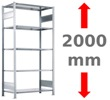 Höhe 2000 mm