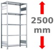 Höhe 2500 mm
