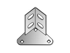 Stahlfuß einfach