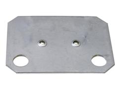 Unterlegplatte für Einfach-Klemmfuß, Stecksystem