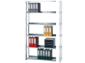 Büroanbauregal (HxBxT): 2300x1300x300 mm, Schraubsystem beschichtet