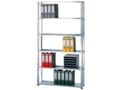 Bürogrundregal (HxBxT): 2300x1000x300 mm, Schraubregal verzinkt
