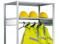 Kleiderstange, Länge 750 mm, Tragkraft 50 kg