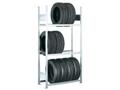 Grundregal für Reifen (HxBxT): 2000x1000x400 mm, 3 Ebenen