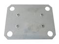 Unterlegplatte für Doppel-Klemmfuß für Stecksystem