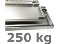 250 kg Multiplus Fachboden (H x B x T): 40 x 1000 x 400 mm