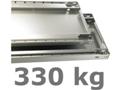 330 kg Multiplus Fachboden (H x B x T): 40 x 1000 x 500 mm