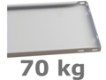70 kg Basic Fachboden (H x B x T): 25 x 1000 x 400 mm