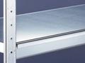 Zusatzebene WS2000, (BxT): 2250x500 mm mit Stahlböden, verzinkt