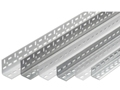 Winkelprofil beschichtet, Schraubsystem, Länge 2000 mm